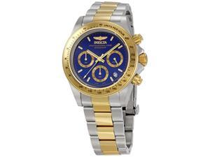 Mens Invicta Speedway Collection Cougar Chronograph Two Tone Watch 3644