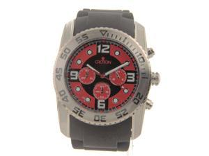 CC311292BSRD Croton Mens Chrono Rubber New Large Sport Watch