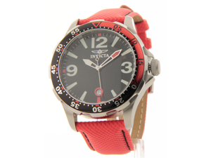 Invicta Men's Swiss Specialty Ocean Diver 10ATM Fabric Strap Date Watch 12122