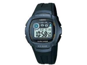Casio W210-1BV Men's Water Resistant Dual Time Alarm Watch
