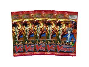 Cardfight! Vanguard Onslaught of the Dragon Souls English Edition Booster Pack Lot of 5