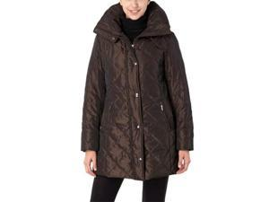 BGSD Women's Thinsulate Filled Quilted A-Line Coat