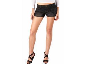 Jessie G. Women's Low Rise Embellished Denim Short Shorts - 8