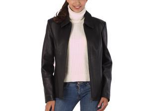 "BGSD Women's ""Miranda"" Zip Front New Zealand Lambskin Leather Jacket"