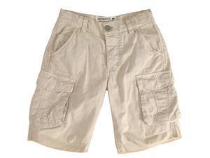 Alpha Industries Boys Finn Tonal Tan Cotton Cargo Shorts - Y6
