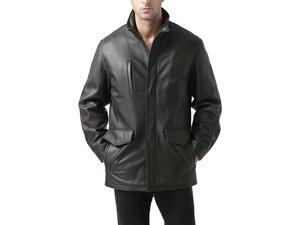 """BGSD Men's """"Bryson"""" Zealand Lambskin Leather Coat"""