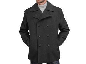 BGSD Men's 'Mark' Classic Wool Blend Pea Coat
