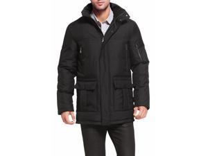 "BGSD Men's ""David"" Hooded Patch Pocket Down Filled Anorak Jacket"