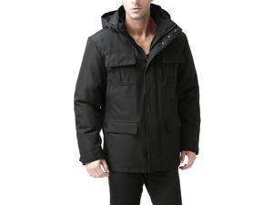 """BGSD Men's """"Peter"""" 3-in-1 Waterproof Hooded Down Parka Coat"""