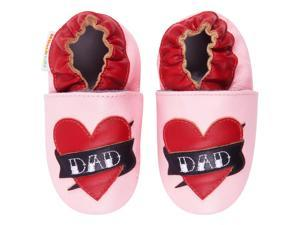 Momo Baby Infant/Toddler Soft Sole Leather Shoes - Daddy's Girl Pink