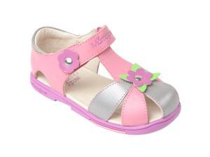 Momo Grow Girls Daisy Leather Sandal Shoes