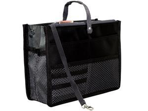 Nifty Version 2 Handbag Purse Organizer Insert (Black)