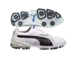 PUMA Titantour Golf Shoes White/Black Medium 9 NEW
