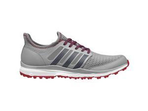 2015 Adidas Climacool Golf Shoes Grey/Power Red Medium 12.5 NEW
