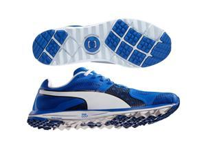 PUMA FAAS Xlite Golf Shoes 18758603 Blue/White/Black Medium 10.5 NEW