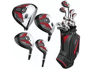 Wilson Pro Fit Full Set RH Standard 11 Clubs + 1 Cart Bag NEW