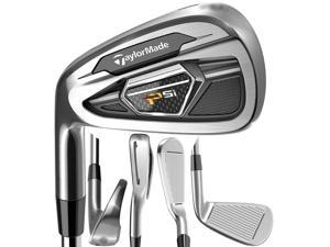TaylorMade PSi Iron Set LH 4-PW, SW Steel Reg NEW