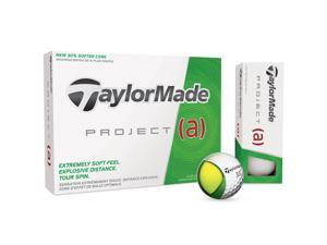 2016 TaylorMade Project A Golf Balls White NEW