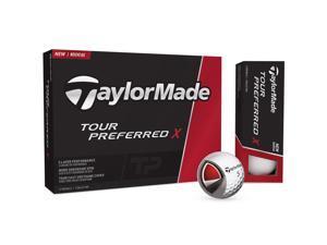 2016 TaylorMade Tour Preferred X Golf Balls White NEW