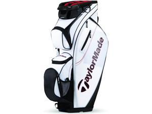2016 TaylorMade San Clemente Cart Bag White/Black/Red NEW