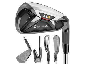 TaylorMade M2 Iron Set RH 4-PW, AW Steel Reg NEW