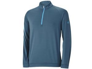 2015 Adidas ClimaWarm 3 Stripes 1/2 Zip Training Golf Pullover CLOSEOUT NEW