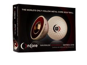 2016 OnCore MA 1.0 Golf Balls 1 Dozen White NEW