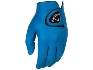 2016 Callaway Opti Color Blue Golf Gloves LH Regular X-Large NEW
