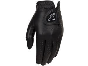 2016 Callaway Opti Color Black Golf Gloves LH Regular Medium NEW