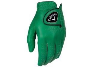 2016 Callaway Opti Color Green Golf Gloves LH Regular X-Large NEW