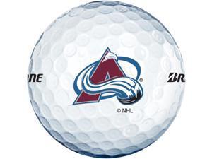 Bridgestone NHL E6 Golf Balls Avalanche White ESWXNHLCA CLOSEOUT NEW