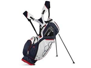 2017 Sun Mountain 4.5 LS 14-Way Stand Bag Navy/White/Red NEW