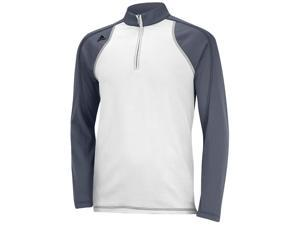 2016 Adidas ClimaWarm 1/4 Zip Colorblock Training Top Golf Pullover NEW