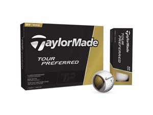 2016 TaylorMade Tour Preferred Golf Balls White NEW