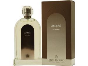 Ambre By Molinard, 3.3 oz Eau de toilette spray for Women.