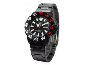 Seiko 5 Sports Automatic Black PVD Dive Watch SNZF53K1