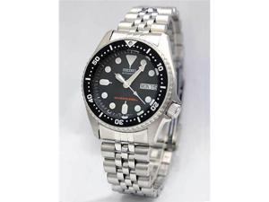 Seiko Black Automatic Dive Watch SKX013K2