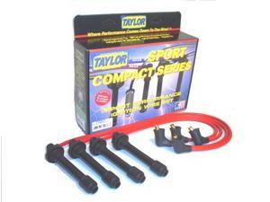 Taylor Cable 77207 8mm Spiro Pro&#59; Ignition Wire Set