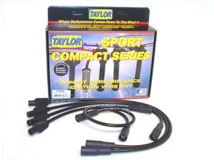 Taylor Cable 77083 8mm Spiro Pro&#59; Ignition Wire Set Fits 93-00 Cabrio Golf Jetta