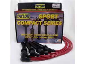 Taylor Cable 77282 8mm Spiro Pro&#59; Ignition Wire Set Fits Golf Jetta Scirocco