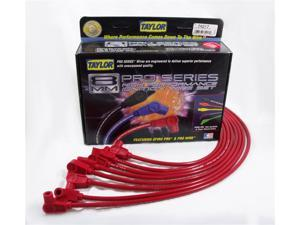 Taylor Cable 74217 8mm Spiro Pro&#59; Ignition Wire Set Fits 75-82 Corvette