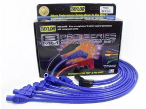 Taylor Cable 74625 8mm Spiro Pro&#59; Ignition Wire Set Fits 92-96 Corvette