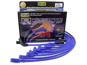 Taylor Cable 74627 8mm Spiro Pro&#59; Ignition Wire Set