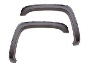 Lund RX606S Rivet Style&#59; Fender Flare Set Fits 07-16 Wrangler (JK)
