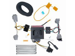 118523 T-One Trailer Hitch Wiring Harness Volvo XC60 2010-2013