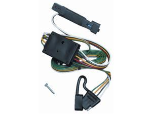 118330 T-One Trailer Hitch Wiring Harness Jeep Cherokee 1991-1996