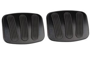 Lokar XBAG-6185 Billet Aluminum Curved Brake/Clutch Pedal Pad Fits 66-77 Bronco
