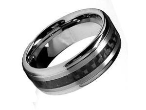 Tungsten Carbide Ring 8MM size 10