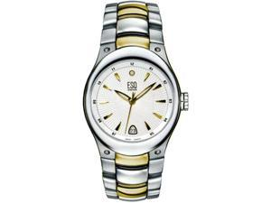 ESQ Men's 07300899 Centurion Mens Silver Dial Two Tone Bracelet Watch