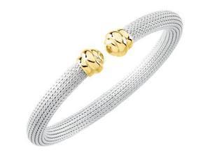 CleverSilver's Sterling Silver Cuff Bracelet-